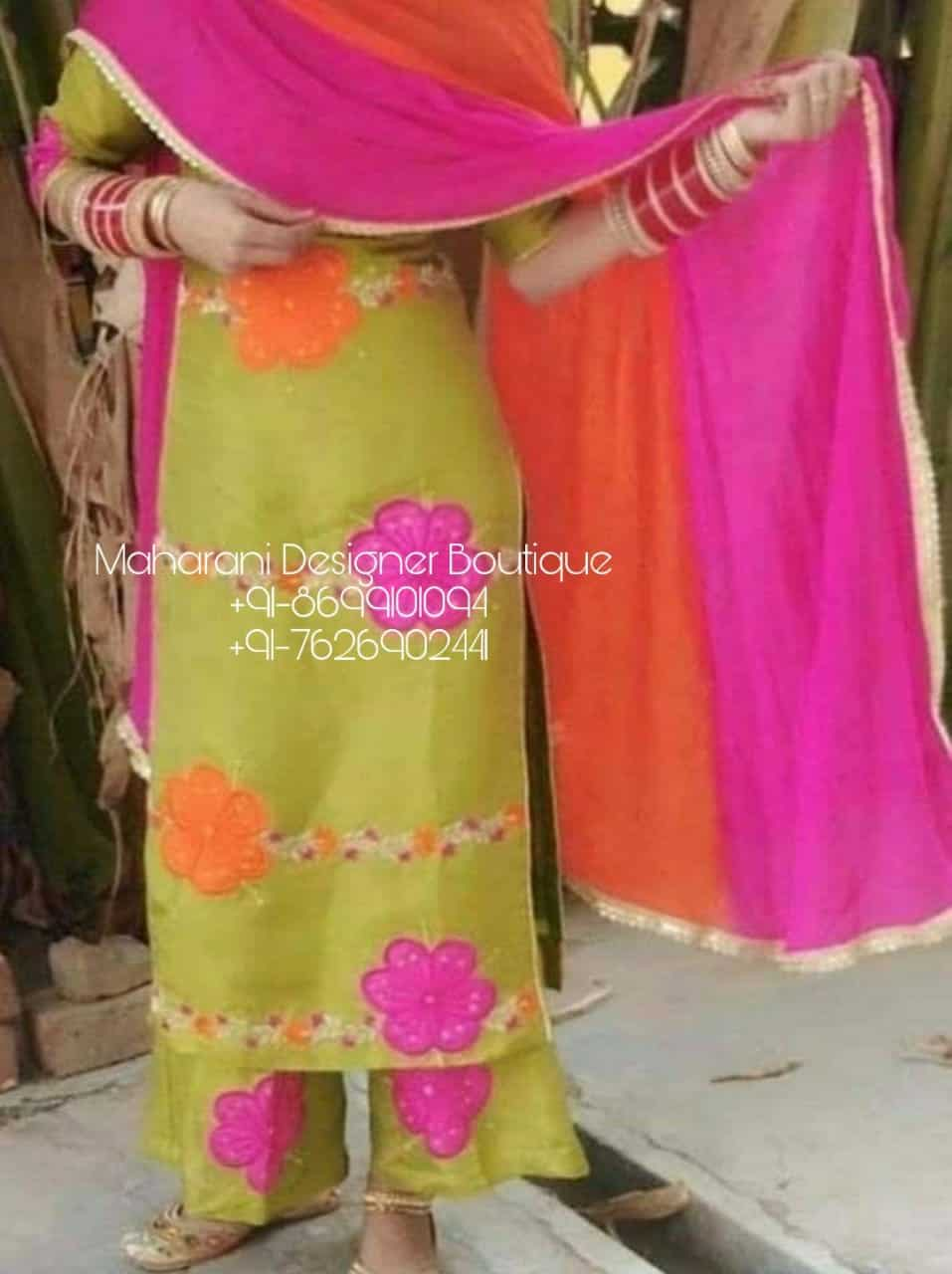 Punjabi Suits New Trend New Trending Punjabi Suits 2020 Maharani Designer Boutique