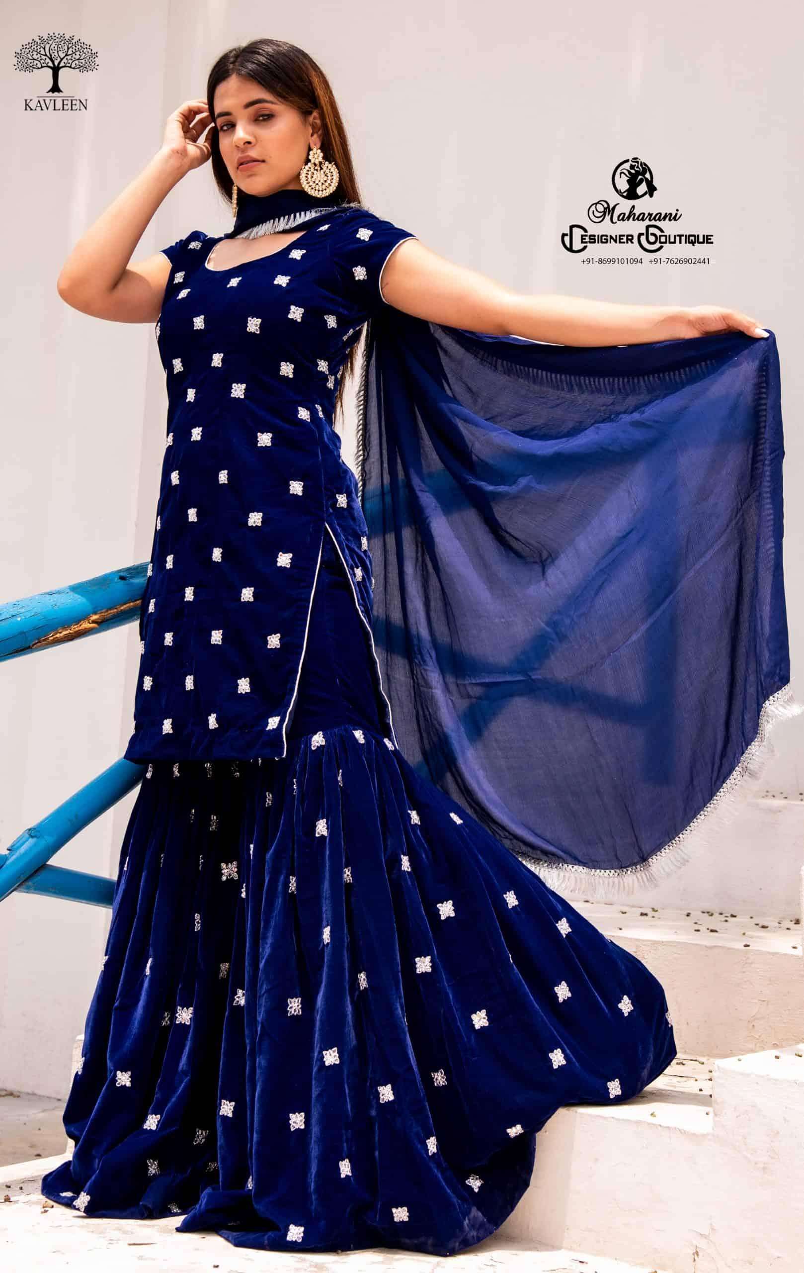 Sharara Suits   Sharara Style Suits   Maharani Designer Boutique