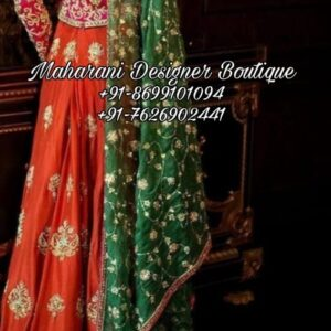 Designer Wedding Lehenga Online