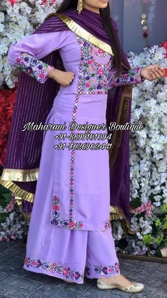 Punjabi Palazzo Suit Online