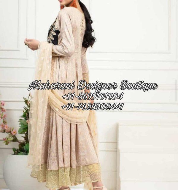 Punjabi Frock Suit