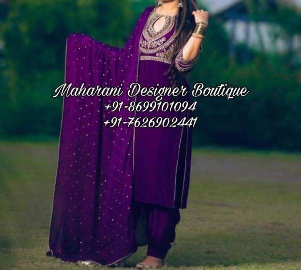 Buy Designer Punjabi Suit Online
