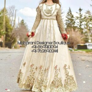 Anarkali Dress UK