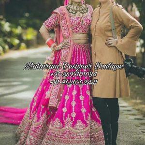 Buy Latest Bridal Lehenga Online Boutique
