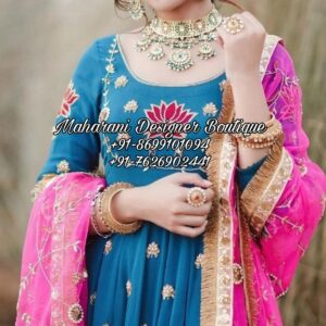 Punjabi Salwar Suit For Wedding