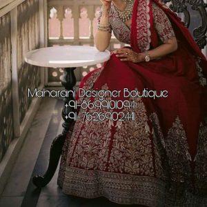 Bridal Lehenga For Canada