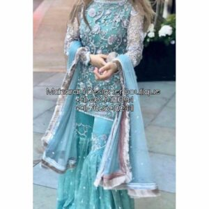 Bridal Sharara Suit Pakistani