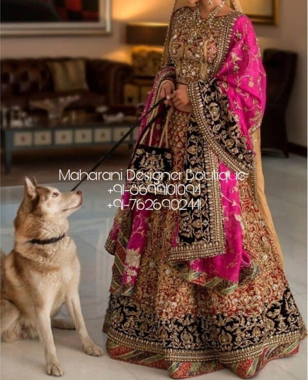 Buy Heavy Bridal Lehenga Online Shopping