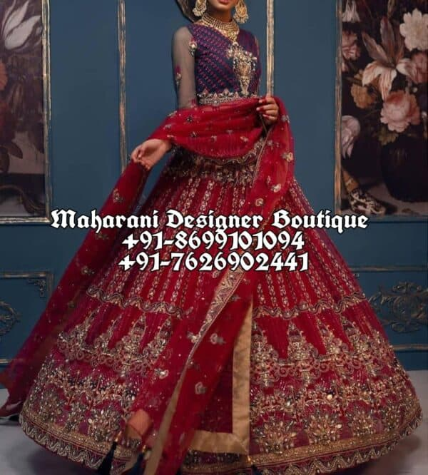 Buy Online Red Lehenga For Bride USA UK India Canada