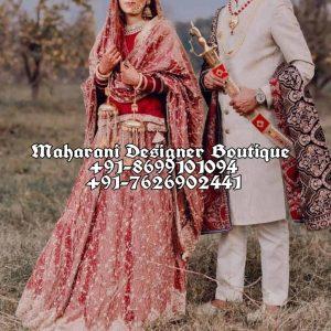 Buy Red Bridal Lehenga Online