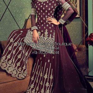 Buy Sharara Suit Pakistani