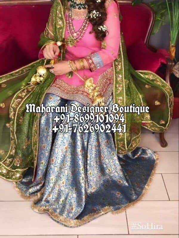 Buy Sharara Suit Wedding Canada UK USA