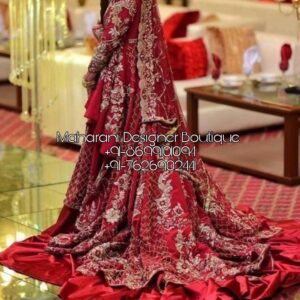 Heavy Lehenga For Bride