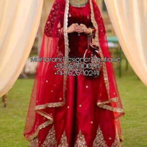 Online Lehenga Bridal Red