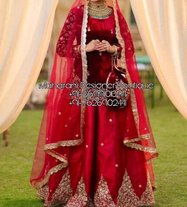 Online Lehenga Bridal Red