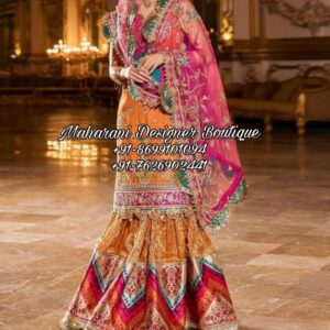 Latest Sharara Suit Party Wear