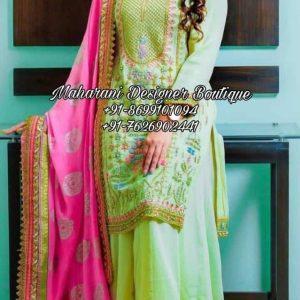 Punjabi Palazzo Suit Party Wear