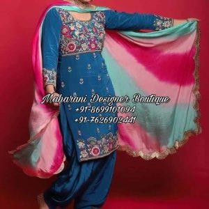 Punjabi Salwar Suit Online Boutique