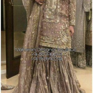 Sharara Suit Pakistani Bridal