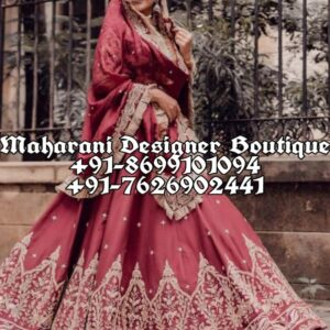 Best Bridal Lehenga Boutique In Delhi