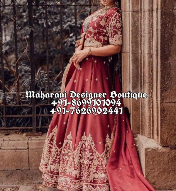 Best Bridal Lehenga Boutique In Ludhiana UK Australia