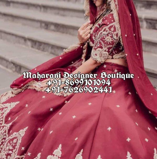 Best Bridal Lehenga Boutique In Ludhiana UK USA