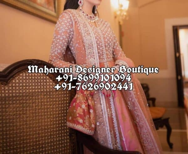 Buy Anarkali Suits For Wedding USA