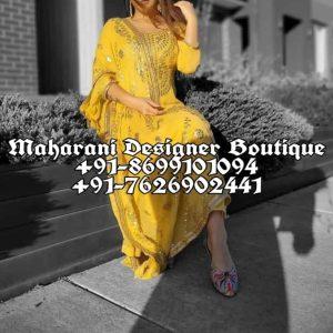Buy Boutique Style Punjabi Suits
