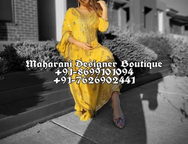 Buy Boutique Style Punjabi Suits