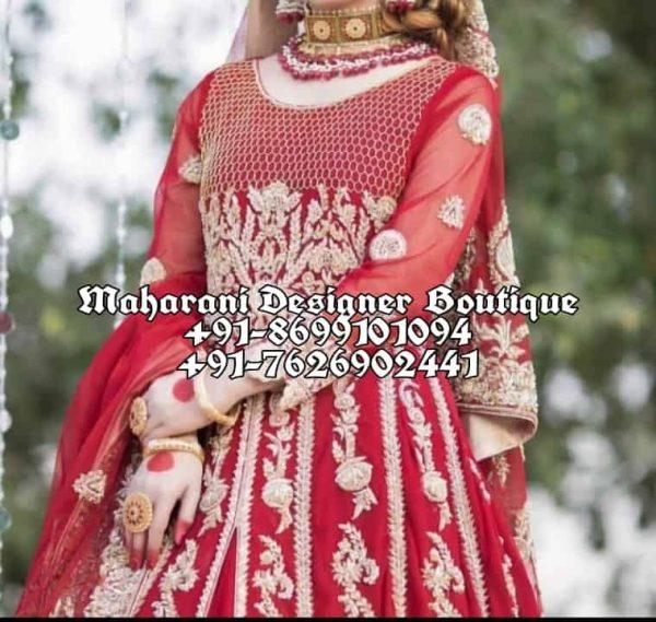 Buy Bridal Anarkali Suits For wedding India Canada