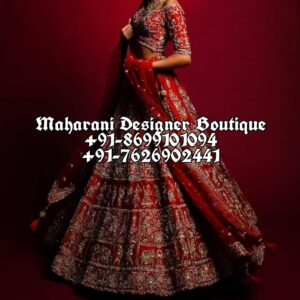 Buy Designer Bridal Lehenga USA