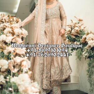 Buy Online Anarkali Suits For Bridal