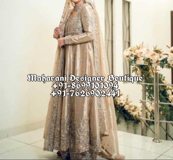 Buy Online Anarkali Suits For Bridal USA
