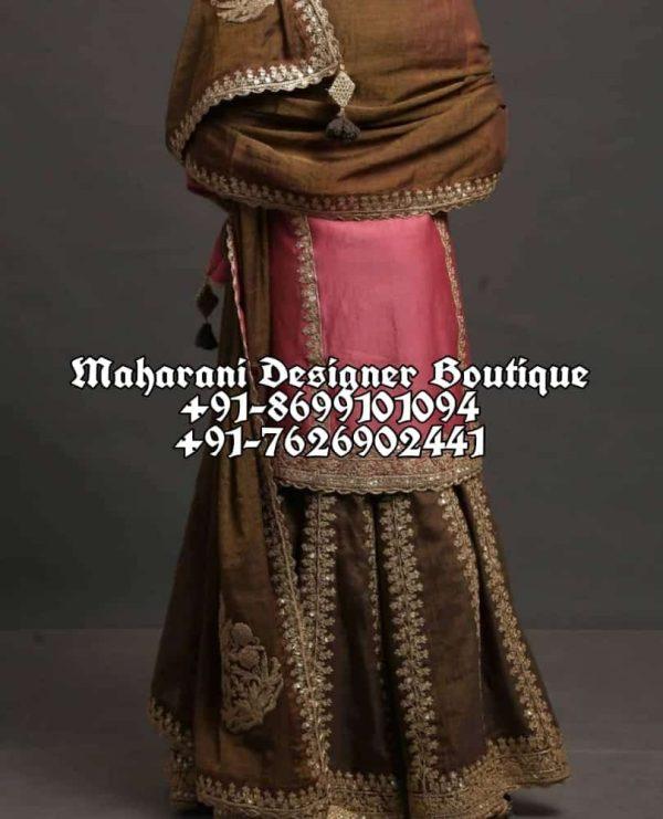 Buy Pakistani Sharara Suits For Wedding USA