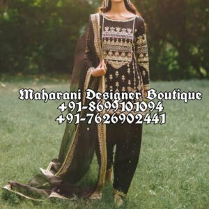 Buy Salwar Suit Black Punjabi Suits Online Boutique