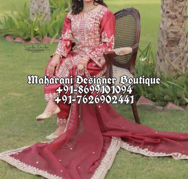 Bridal Punjabi Suits For Wedding
