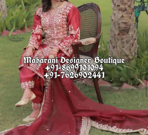 Bridal Punjabi Suits For Wedding Canada UK