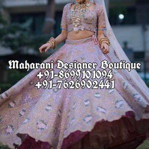 Buy Bridal Lehenga Designer USA
