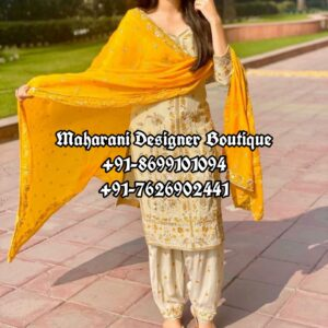 Buy Bridal Punjabi Suits Canada