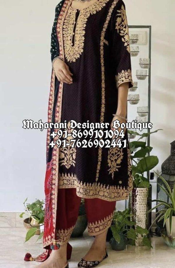 Buy Designer Punjabi Suits Party Wear Boutique