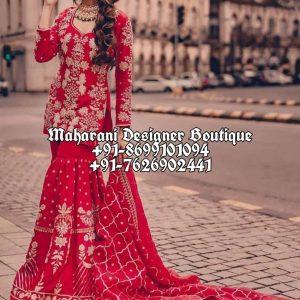 Buy Heavy Punjabi Wedding Suits
