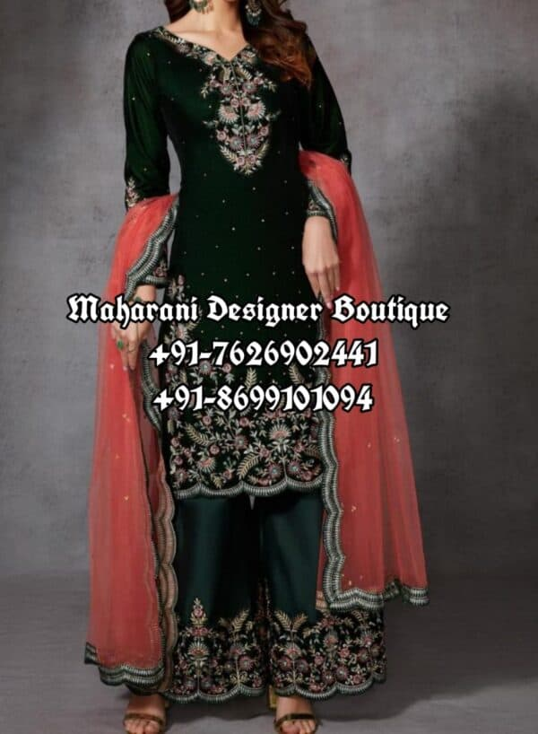 Buy Party Wear Plazo Suits