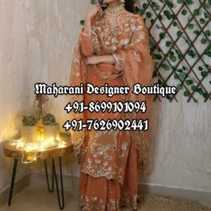 Buy Party Wear Suits With Palazzo