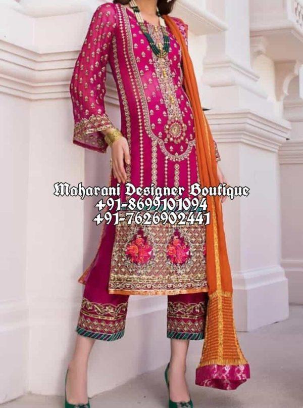Buy Punjabi Suits Of Boutique