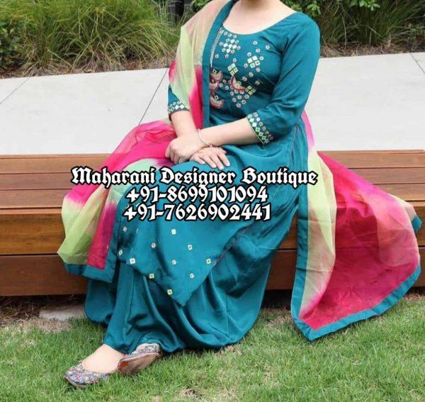 Buy Punjabi Suits Party Wear Canada