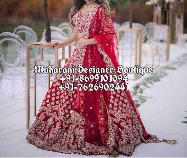 Buy Red Bridal Lehengas UUK