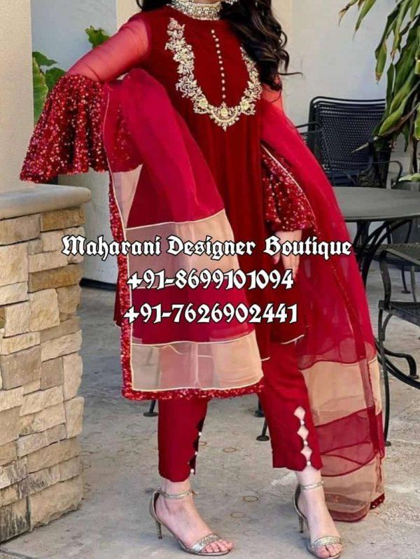 Designer Trouser Suits Punjabi Suits Online Boutique
