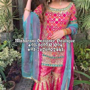 Designs Of Sharara Suits Online UK USA Canada
