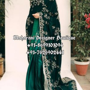 Latest Designer Saree With Blouse
