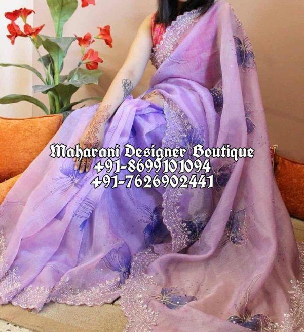 Latest Saree Design Party Wear
